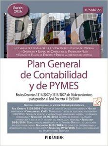 Libro del Plan General de Contabilidad y de PYMES 2016