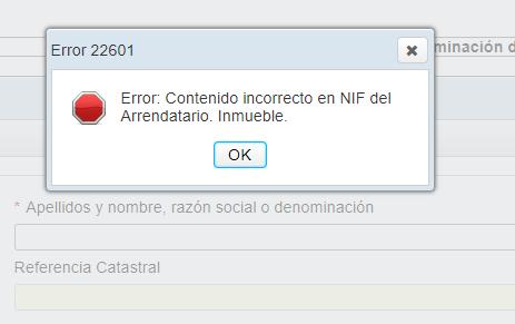 Modelo 347 error NIF